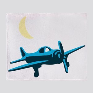 plane Throw Blanket