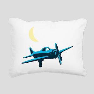 plane Rectangular Canvas Pillow