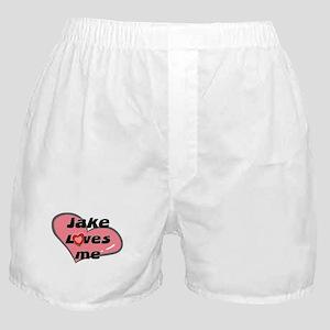 jake loves me  Boxer Shorts