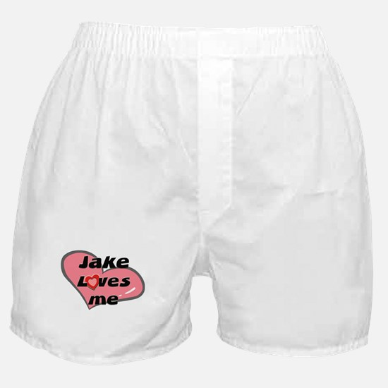 jake loves me  Boxer Shorts