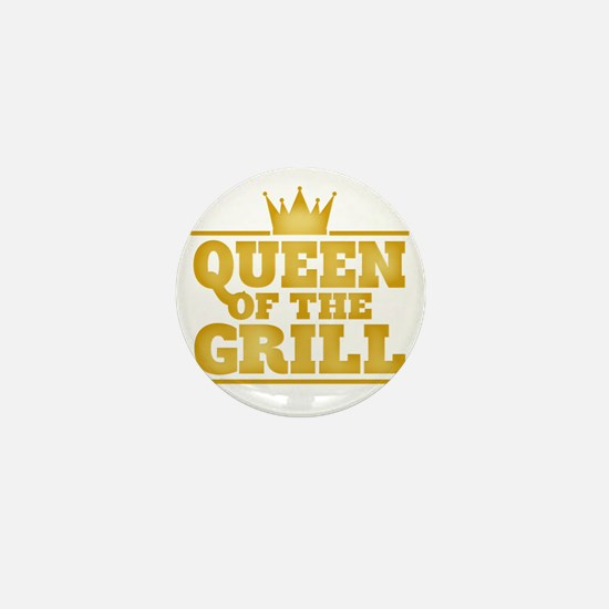 Queen of the Grill Mini Button