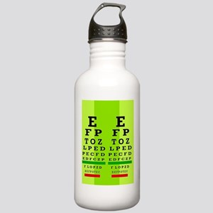 Eye Chart FF 4 Stainless Water Bottle 1.0L