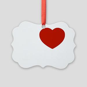 I love Leila Picture Ornament