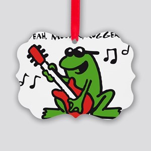 frog n roll 07-2011 A 3c Picture Ornament