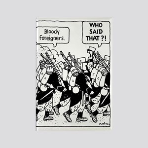 Nowt so daft 472 Rectangle Magnet