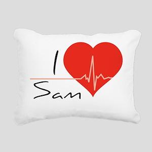 pp35 Rectangular Canvas Pillow