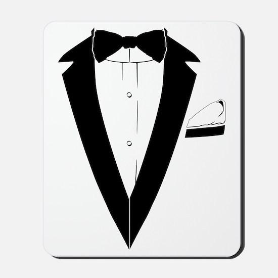 TUXEDO Tshirt (007 style) Mousepad