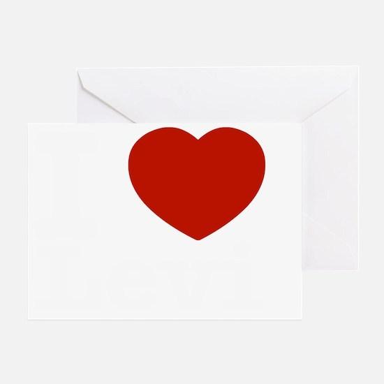 I love Levi Greeting Card