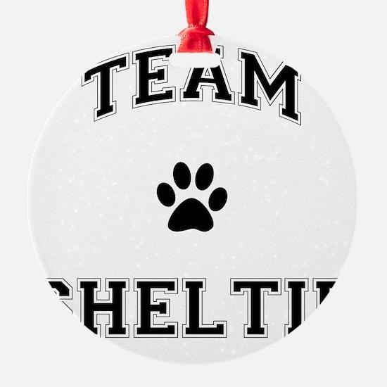 Team Sheltie Ornament