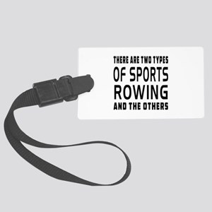 Rowing Designs Large Luggage Tag