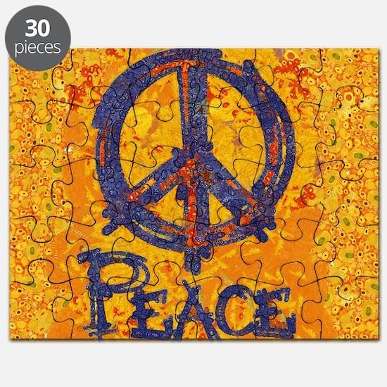 Gustav Klimt Peace Puzzle