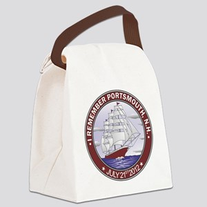 Portsmouth NH CLipper Canvas Lunch Bag