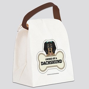 Owned by a Dachshund Canvas Lunch Bag