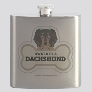 Owned by a Dachshund Flask