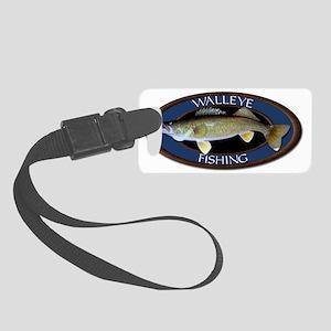 Walleye Small Luggage Tag