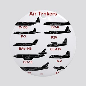 Air Tankers, firefighting Round Ornament