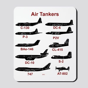 Air Tankers, firefighting Mousepad