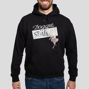 dark shirt logo Hoodie (dark)