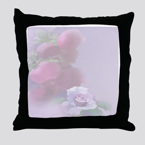 Pomegranate Rose Throw Pillow