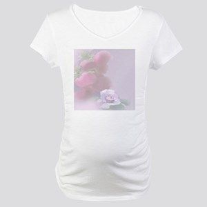 Pomegranate Rose Maternity T-Shirt