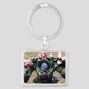 Zombie Lord Landscape Keychain