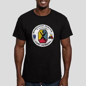 ForBenning Men's Fitted T-Shirt (dark)