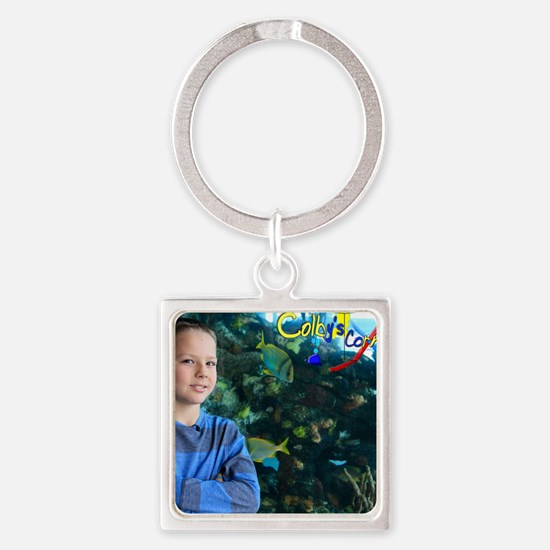 Puzzle 3 Square Keychain