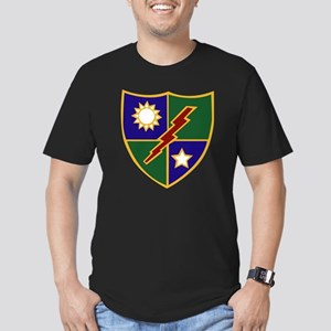 75th Infantry (Ranger) Men's Fitted T-Shirt (dark)