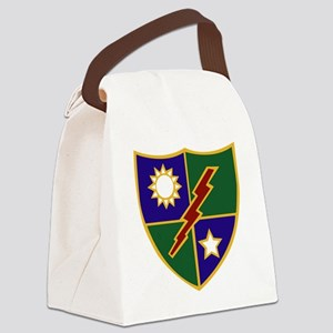 75th Infantry (Ranger) Regiment Canvas Lunch Bag