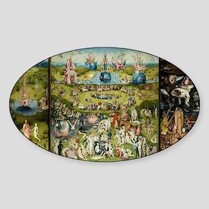 Hieronymus Bosch Garden Of Earthly Delight Sticker