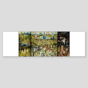 Hieronymus Bosch Garden Of Earthly Bumper Sticker