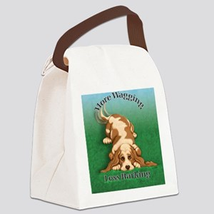 More Wagging Canvas Lunch Bag
