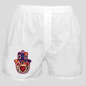 Heart Hamsa Boxer Shorts