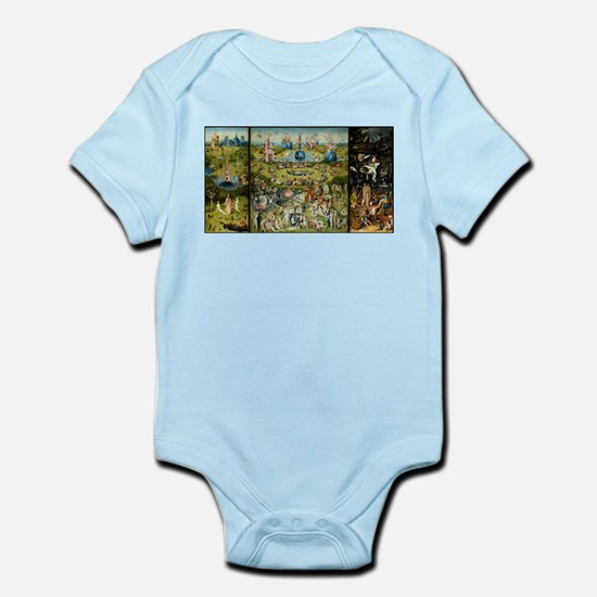 Hieronymus Bosch Garden Of Earthly Delig Body Suit