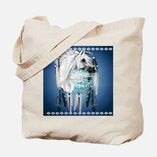 Leopard Appy and Dreamcatcher Tote Bag
