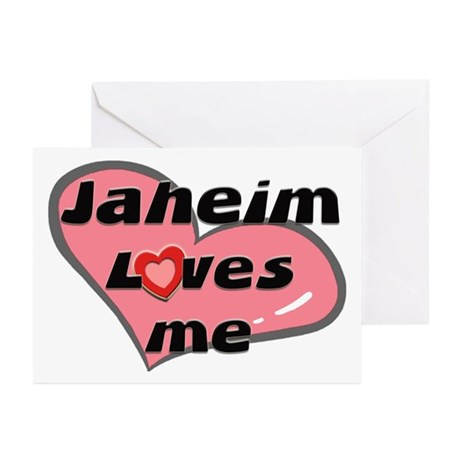 jaheim loves me Greeting Cards (Pk of 10)