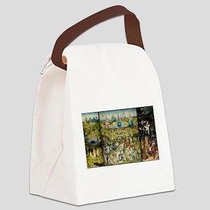 Hieronymus Bosch Garden Of Earthl Canvas Lunch Bag