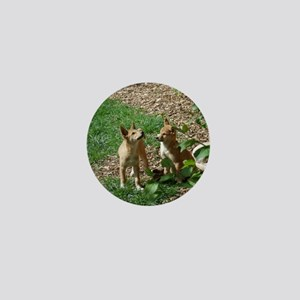 dingo puppies Mini Button