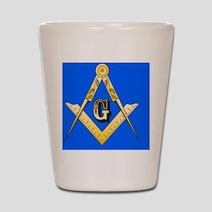 Masonic Magnet Shot Glass