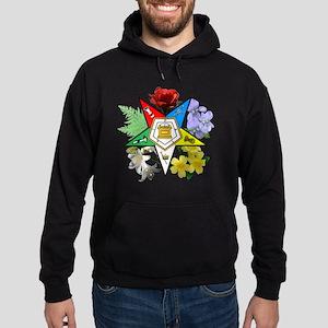 OES Floral Emblem Hoodie (dark)