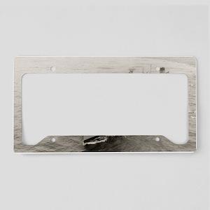 uss hassayampa framed panel p License Plate Holder