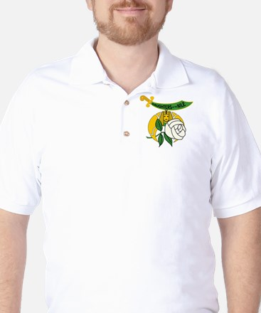 Daughters of the Nile frame Golf Shirt