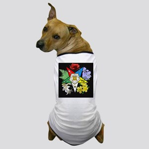 oes floral jewelry case Dog T-Shirt