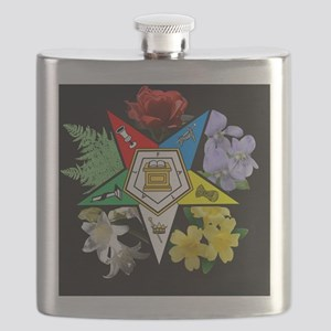 oes floral jewelry case Flask