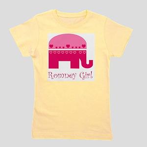 mitt romney girl Girl's Tee