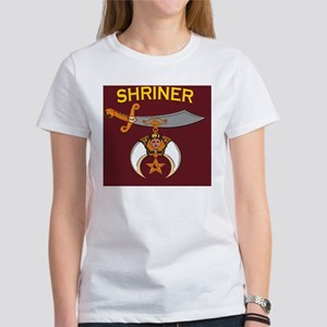 SHRINER round car magnet Women's T-Shirt