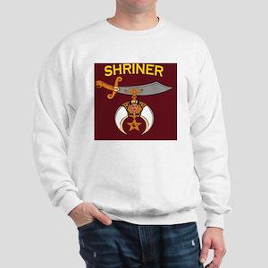 SHRINER round car magnet Sweatshirt