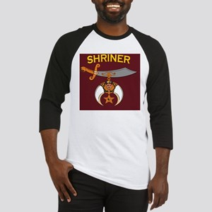 SHRINER round car magnet Baseball Jersey