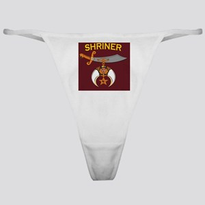 SHRINER round car magnet Classic Thong