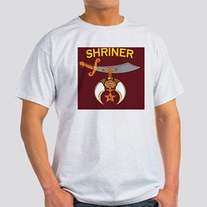 SHRINER round car magnet Light T-Shirt